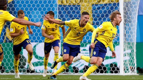 Sieg über die Schweiz: Schweden erreicht WM-Viertelfinale