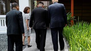 ترامب راض عن مسار المحادثات النووية مع كوريا الشمالية