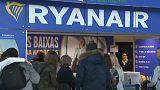 Ryanair sufre 1.100 cancelaciones por las huelgas de controladores