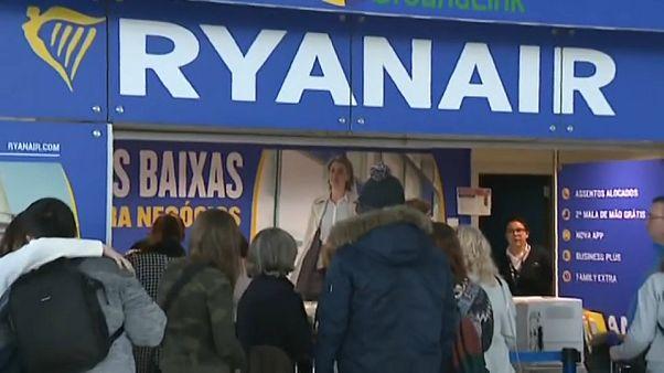 Ryanair anulou mais de mil voos em junho devido às greves