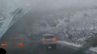 بارش برف در آفریقای جنوبی