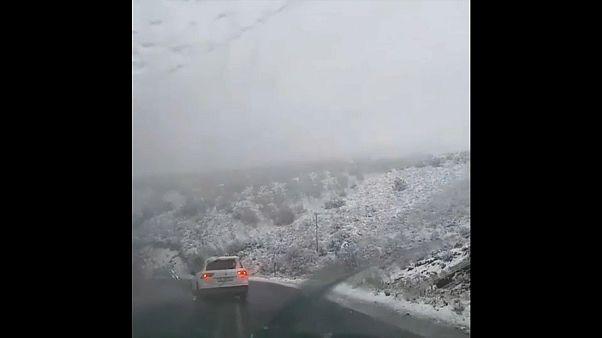 Летний снег в Африке
