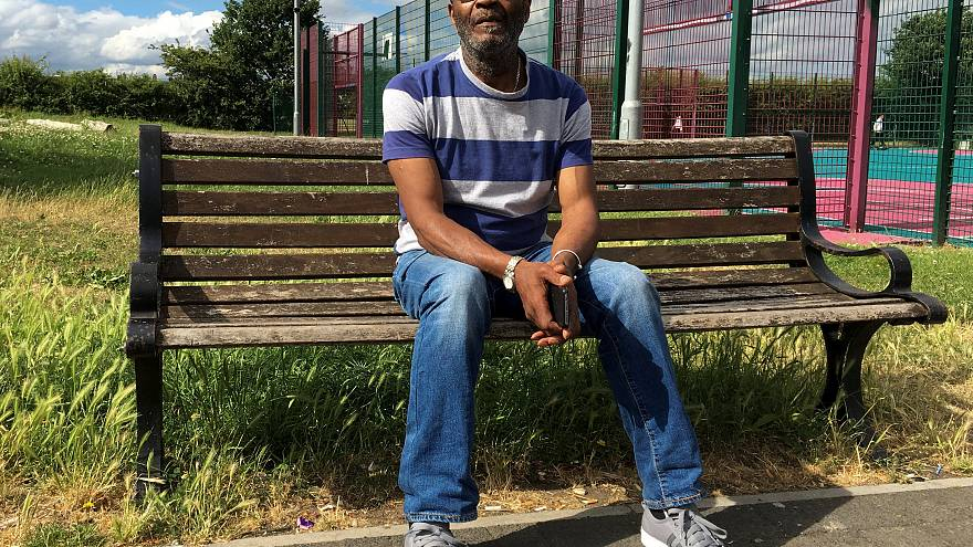 Winston Robinson, who is part of the Windrush generation of immigrants
