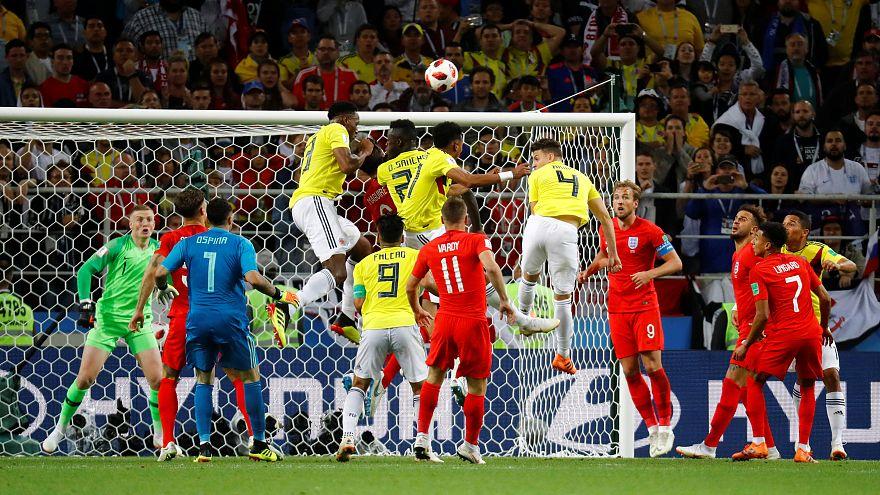 كأس العالم 2018: إنجلترا تتأهل لدور الربع النهائي بعد فوزها على كولومبيا بركلات الترجيح