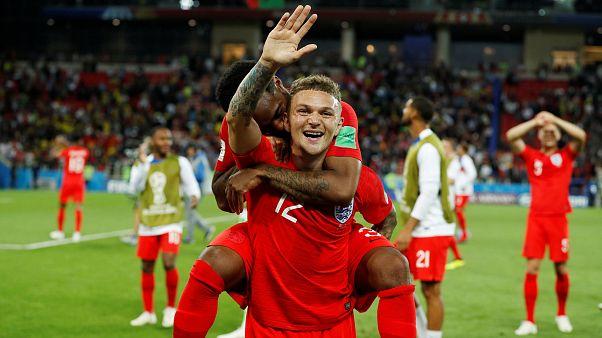 Inglaterra hace historia al eliminar a Colombia en los penaltis