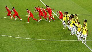 """Colômbia e Inglaterra levaram para prolongamento o duelo pelos """"quartos"""""""