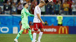مهاجم دانمارک پس از حذف در مقابل کرواسی تهدید به مرگ شد