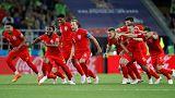 برتری انگلیس برابر کلمبیا در جام جهانی