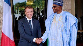 """Macron au Nigeria : """"Vous avez un ami en France"""""""