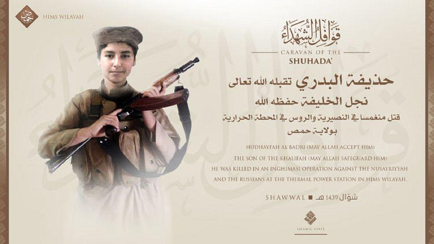 وكالة تابعة لداعش تعلن مقتل نجل البغدادي في حمص بسوريا