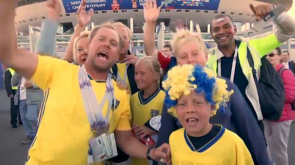 Schweden jubelt