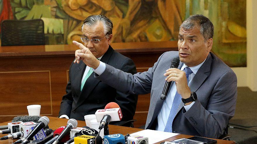 Orden de arresto contra el expresidente Rafael Correa