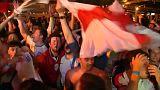 Inglaterra y Suecia celebran su pase a cuartos