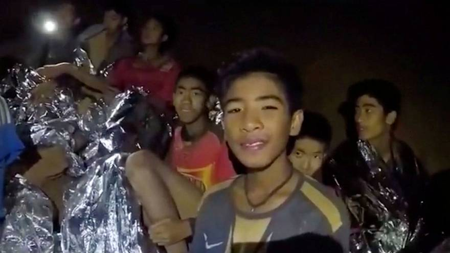 Watch: Thai boys shown smiling, receiving medical care in new video