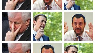 Seehofer trifft Salvini und Kurz
