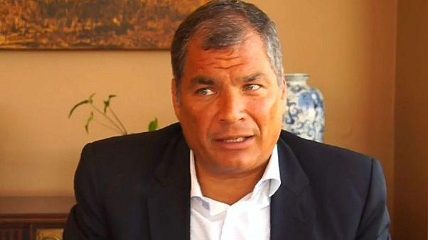 Justiça do Equador dita ordem de prisão preventiva para Rafael Correa