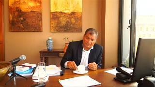 Haftbefehl gegen Ecuadors Ex-Päsident Correa