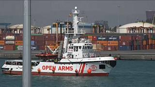 L'ong Open Arms arriva in Spagna