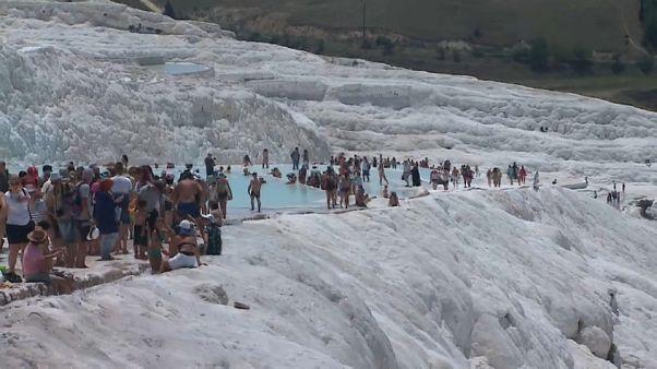 Pammukkale, la montaña blanca de Turquía