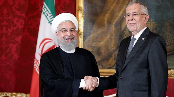 روحانی در وین با رئیس جمهوری اتریش دیدار کرد