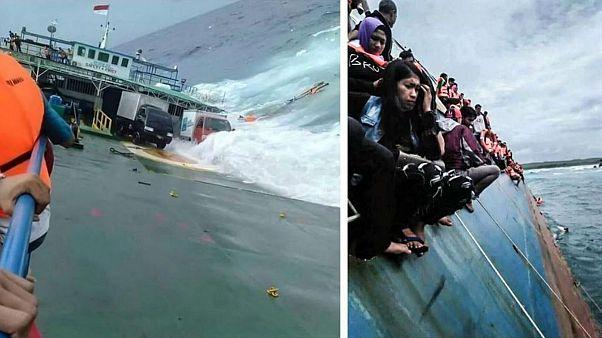 غرق کشتی اندونزی