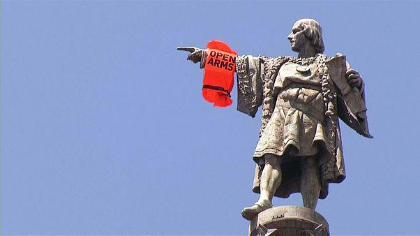 تمثال كريستوفر كولومبوس في كتالونيا