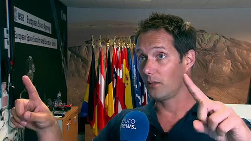 WATCH IN FULL: French astronaut Thomas Pesquet interview