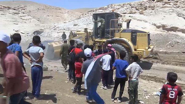 Westjordanland: Proteste gegen Räumung arabischer Siedlungen