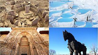Türkiye'den Unesco Dünya Kültür Miras Listesi'ne giren 19 eser