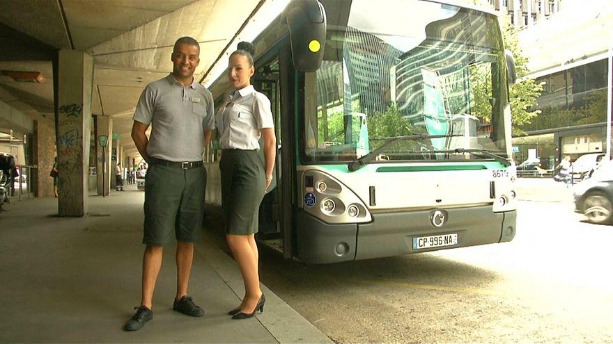شاهد: السماح لسائقي حافلات باريس بارتداء سراويل قصيرة في العمل