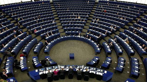 Members of the European Parliament attend a plenary session in Strasbourg