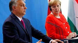 Orbán: Máshonnan nézzük, és máshogy látjuk a világot Angela Merkellel