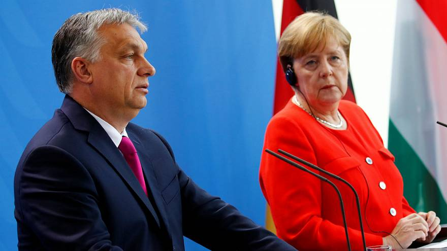 Orban and Merkel clash over migration