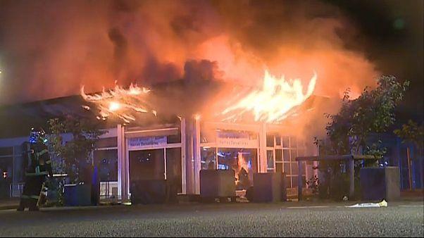 Segunda noche de violencia en la ciudad francesa de Nantes