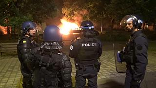 There are appeals of calm after a second night of violence in Nantes in France