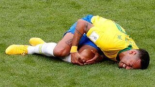 Mondial : Neymar, déjà 14 minutes le nez dans le gazon