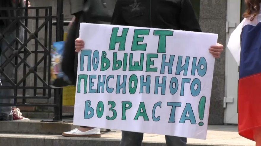 Около 90% россиян против повышения пенсионного возраста