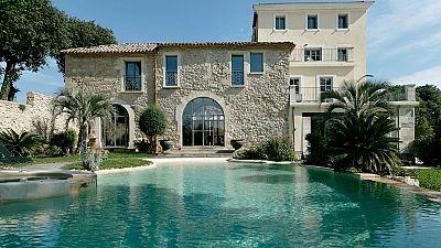 The wine growing estate wellness heaven