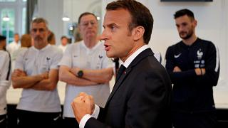 French media blasts Macron for delaying poverty plan to 'go to World Cup'