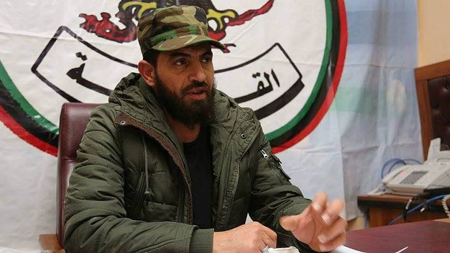محمود الورفلي القيادي بالجيش الوطني الليبي