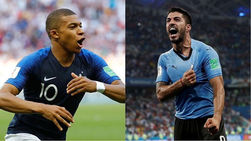 WM 2018: Frankreich trifft im Viertelfinale auf Uruguay