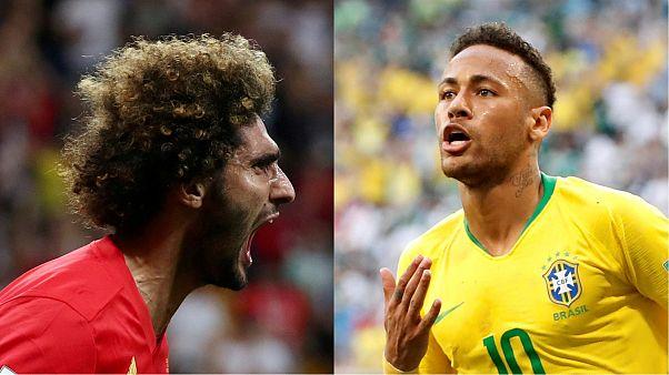 """La """"mejor generación"""" de Bélgica busca las semifinales ante Brasil"""