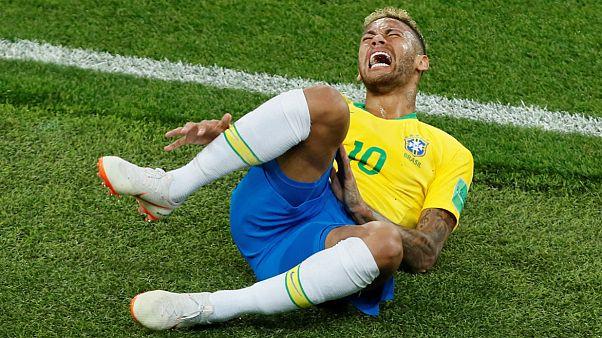 نیمار مهاجم برزیل در جام جهانی