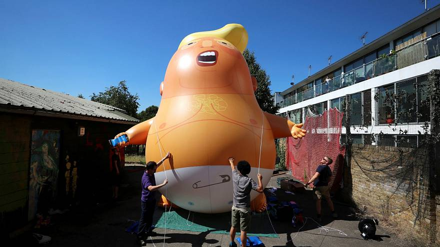 'Trump baby' to fly during US President's official UK visit