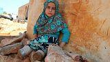 ساقان اصطناعيتان للطفلة السورية مايا بدلا من العلب المعدنية