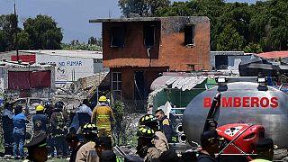 Dozens dead in Mexico fireworks blast
