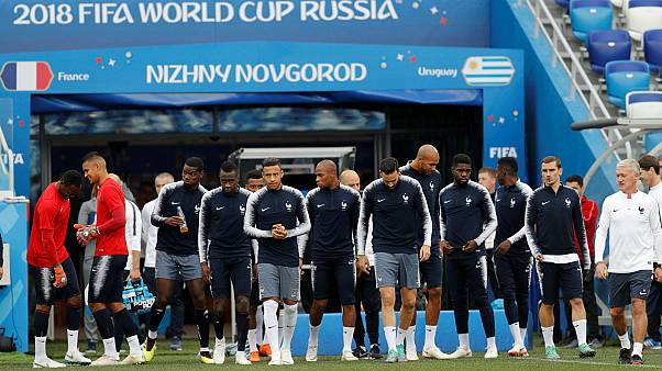 Mondiali: la Francia batte l'Uruguay 2-0 e passa in semifinale