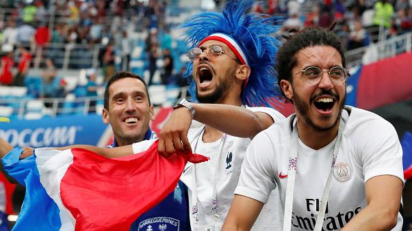 France beat Uruguay 2-0, advance to semi-finals