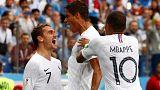 Franciaország az első elődöntős a foci-vb-n