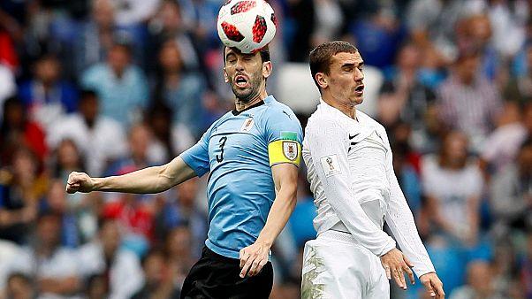 بازی اروگوئه فرانسه جام جهانی